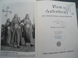 Livre Sur Les Symboles Svastika Dans L'Histoire 1934 - 1939-45