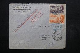 EGYPTE - Enveloppe Commerciale Du Caire Pour La France , Affranchissement Plaisant  - L 32033 - Égypte