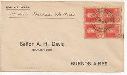 AIR MAIL LETTER 12 07 1929 #130 - Posta Aerea