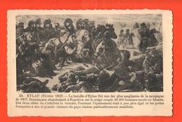 Napoleone Napolèon Bonaparte Battaille De Eylau Battaglia Di Eylau Russia Cpa Primo '900 - Characters