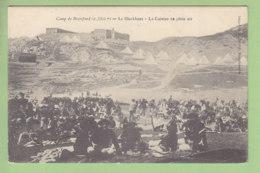 Camp De Restefond : Chasseurs Alpins, La Cuisine En Plein Air, Le Blockhaus. 2 Scans. Edition Astoln Barcelonnette - France