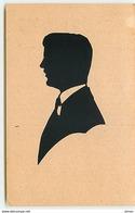 N°7515 - Carte Fantaisie - Silhouette - Homme - Silhouettes