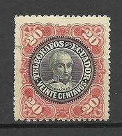 ECUADOR Telegrafos Telegraph Stamp 20 C. Balinas * - Ecuador