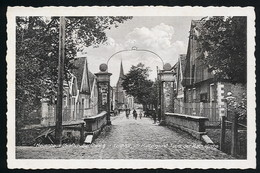 AK/CP Neuenhaus  Bentheim   Teichtor    Gel/circ. 1930   Erhaltung/Cond. 2 , Eckknick Nr. 00806 - Bentheim
