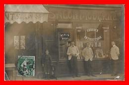 CPA A Identifier. Salon Moderne De Coiffure, Animé, Chien...I322 - Cartes Postales