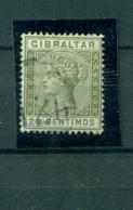 Gibraltar, Königin Victoria, Nr 30 B Gestempelt - Gibraltar
