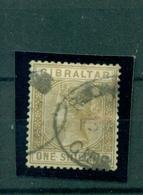 Gibraltar, Königin Victoria, Nr 14 Gestempelt - Gibraltar