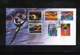 Greece / Griechenland 2004 Olympic Games Greece FDC - Sommer 2004: Athen