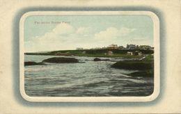 China, PEITAHO, Rockey Point (1916) Blue Embossed Postcard No. 43 - China