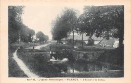 ¤¤    -   PLANCY    -   L'Ecluse Et Le Canal    -   ¤¤ - France