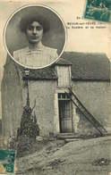 CHER  MEHUN SUR YEVRE  La Rosiere Et Sa Maison - Mehun-sur-Yèvre