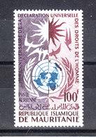Mauritania   - 1963. Organizzazione Dei Diritti Umani. Human Rights Organization. MNH - Organizzazioni