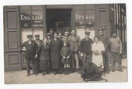 CARTE PHOTO BAR CAFE SPOKEN ENGLISH LE HAVRE - Autres
