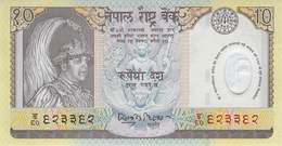 10 Rupee Nepal UNC Polymer - Nepal