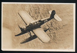 AK/CP Arado   Ar 196    Ungel/uncirc.  1933-45   Erhaltung/Cond. 2-  Nr. 00814 - 1939-1945: 2ème Guerre