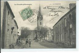 La Ferrière-Entrée Par La Route De La Roche - France