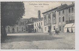 Castiglione Delle Stiviere - Piazza S. Luigi - (censura Mantova) 1918           (A-81-100909) - Mantova