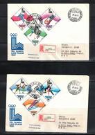 Hungary / Ungarn 1979 Olympic Games Lake Placid FDC - Winter 1980: Lake Placid