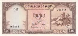 20 Riels Banknote Kambodscha UNC (I) - Cambodia