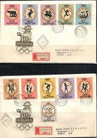 Hungary / Ungarn 1960 Olympic Games Rome FDC - Sommer 1960: Rom