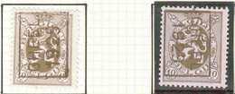 OCVB N ° 5141   GHEEL 1929   A & B - Préoblitérés