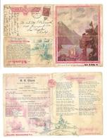 USA - XX. 1931 (Aug 6) TPO Seatle & Skacway - LA, CA. Alaska Visit Advertising Card, Railway Fkd Cds + Interesting. - Unclassified