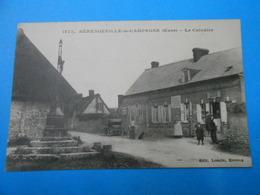 """27 ) Bérengeville-la-campagne : N° 1273 """" épicerie  ; Mércerie : Année 1917 : EDIT : Loncle - France"""