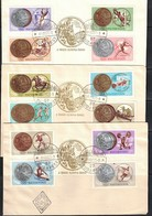 Hungary / Ungarn 1965 Olympic Medals At Olympic Games Tokyo FDC - Sommer 1964: Tokio