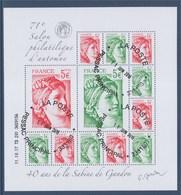 = 40 Ans De La Sabine De Gandon Bloc 12 Timbres Daté 11.10.17 Neuf F5179 Composé Avec N°5179 5180 5181 5182 - Bloc De Notas & Hojas
