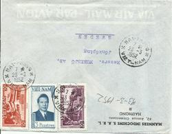 VIETNAM, CARTA CIRCULADA A SUECIA - Vietnam