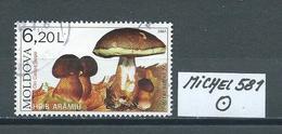 MOLDAWIEN  MICHEL 581 Gestempelt Siehe Scan - Moldawien (Moldau)