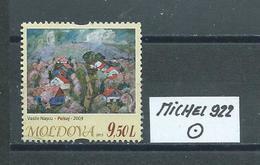 MOLDAWIEN  MICHEL 922 Gestempelt Siehe Scan - Moldawien (Moldau)