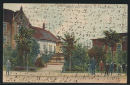 Ansichtskarte Cosel Koźle Oberschlesien Kriegerdenkmal 4.1.1905 Nach Berlin - Schlesien