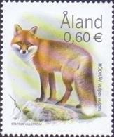 Aland Islands - Predators - Red Fox (Vulpes Vulpes), Stamp, MINT, 2004 - Dogs