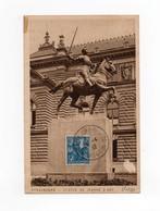 !!! PRIX FIXE : CARTE MAXIMUM JEANNE D'ARC ENVOYEE A PAPANTLA, MEXIQUE - 1930-39