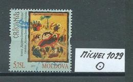 MOLDAWIEN  MICHEL 1029 Gestempelt Siehe Scan - Moldawien (Moldau)