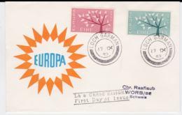 Ireland 1962 FDC Europa CEPT (G99-27) - Europa-CEPT