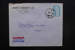 SYRIE - Enveloppe Commercial De Alep Pour Pour La France En 1968  , Affranchissement Plaisant - L 32050 - Syrie