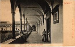 CPA Firenze Certosa Ji Chiostro Grande ITALY (801565) - Firenze