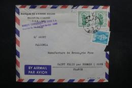 SYRIE - Enveloppe Commercial De Damas Pour La France En 1967 , Affranchissement Plaisant - L 32052 - Syrie