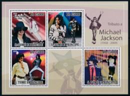 [401608]TB//**/Mnh-Sao Tomé-et-Principe 2006 - Michael Jackson, Roi De La Musique Pop, Chanteurs Et Compositeurs - Musique