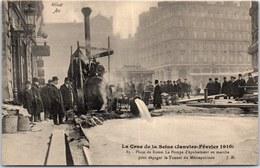 75008 PARIS - Crue De 1910 - La Place De Rome, La Pompe. - Arrondissement: 08
