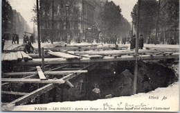75008 PARIS - Orage Du 15 Juin - Les Trous Après L'orage. - Arrondissement: 08