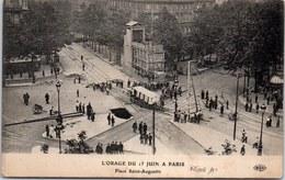 75008 PARIS - Orage Du 15 Juin - Place Saint Augustin - - Arrondissement: 08