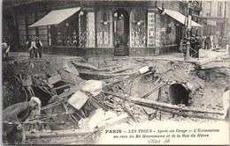 75008 PARIS - Orage Du 15 Juin - Excavation Bld Haussmann - Arrondissement: 08