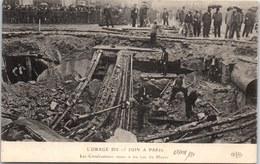 75008 PARIS - Orage Du 15 Juin - Canalisations Rue Du Havre - Arrondissement: 08