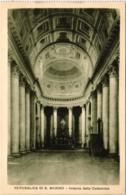 CPA Republica Di S. Marino Interno Della Cattedrale SAN MARINO (801926) - San Marino
