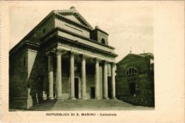 CPA Republica Di S. Marino Cattedrale SAN MARINO (801727) - San Marino