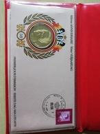 Enveloppe Numismatique 50ème Anniversaire Roi Baudouin - Collections