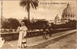 CPA S. S. Pio Giardino Vaticano ITALY (801655) - Vaticano